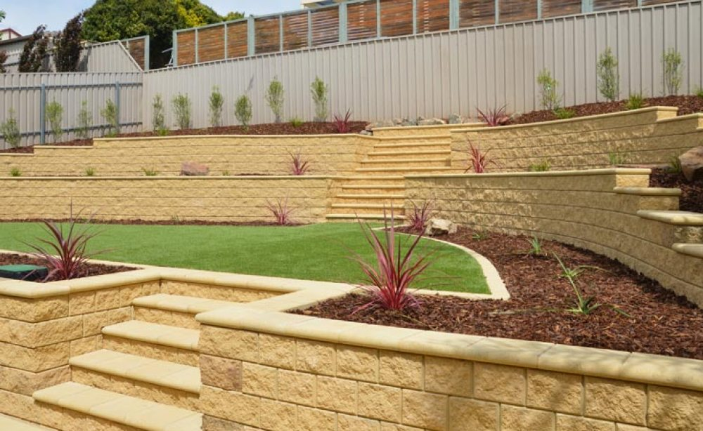 Concrete Block Retaining Walls Adelaide