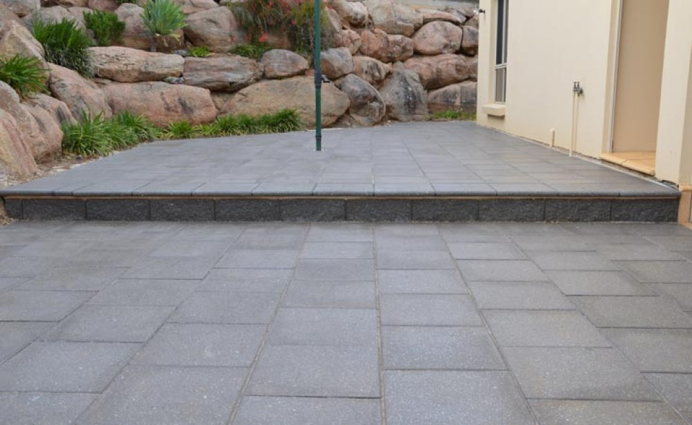 Paved Courtyard (After)