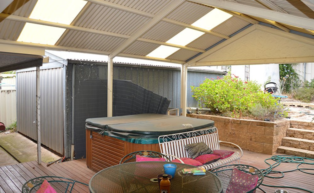 Verandah Area Before Makeover