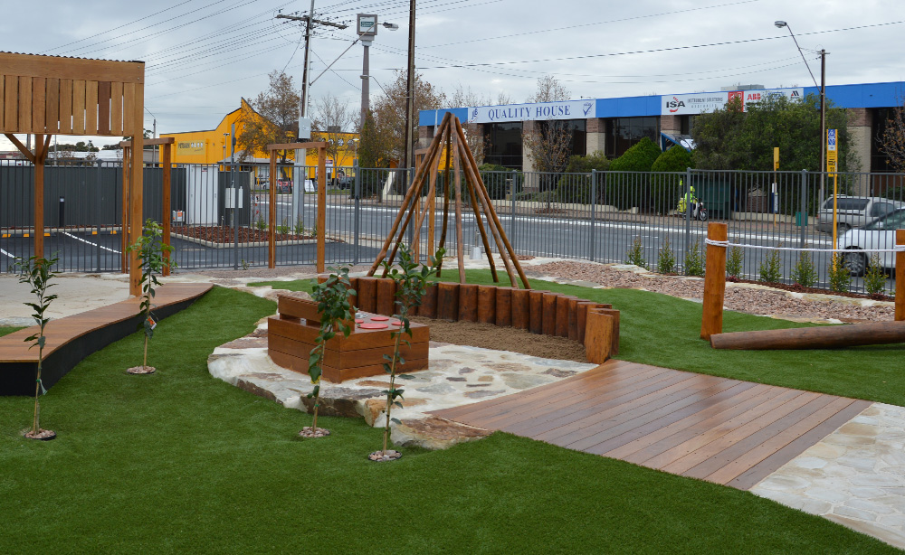 Child Care Centre Landscaping | Low Maintenance