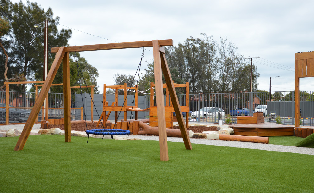Royal Park Child Care Centre Landscaping | Net Swing