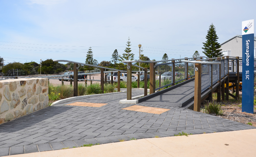 Commercial Landscaping Semaphore Foreshore
