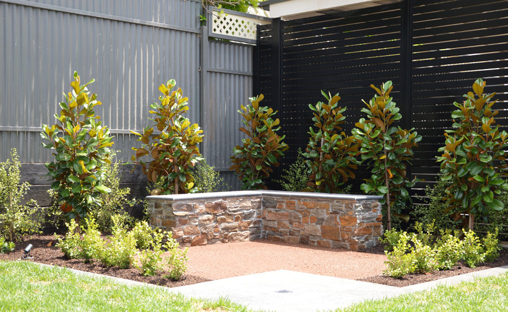 Garden Feature Wall Seat