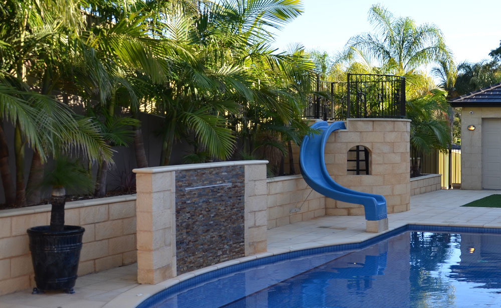 Pool Water Features