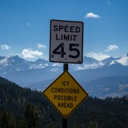 Icy conditions ahead