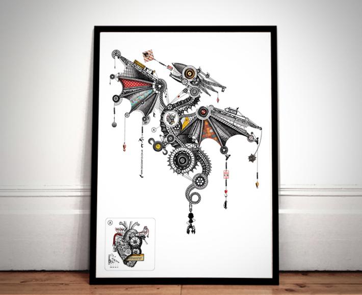 Diego Mazzeo mechanical animals