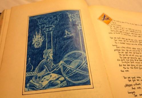 The prophet. Kahlil Gibran
