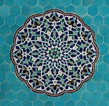 The Jāmeh Mosque of Yazd, Iran. Photo by Sebastià Giralt.