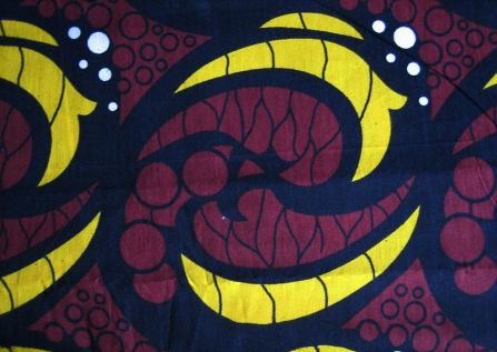 Kitenge, a traditional cloth worn by Swahili women