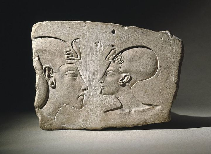 The Wilbour Plaque, ca. 1352-1336 B.C.E, Brooklyn Museum