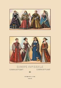 European noblewomen of the 16th century.