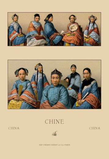 Women's clothing of China.