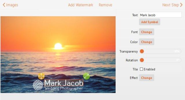 Visual Watermark