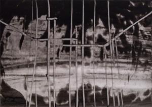 Luigi Pericle Senza Titolo1963 Chine su carta
