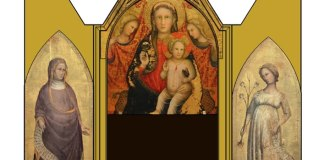 Trittico ricomposto Madonna di Spoleto