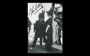 Giovanni Boldini. Il piacere. Story of the Artist (video still) Boldini nel 1910 a Parigi Ippodromo di Auteuil con Madame Charlotte Stern