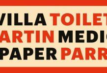 """ VillaToilet MartinMedici Paper Parr"