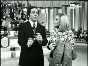 Raffaella Carrà e Corrado Mantoni