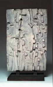 Pietro Consagra Terracotta smaltata di Bianco 1962