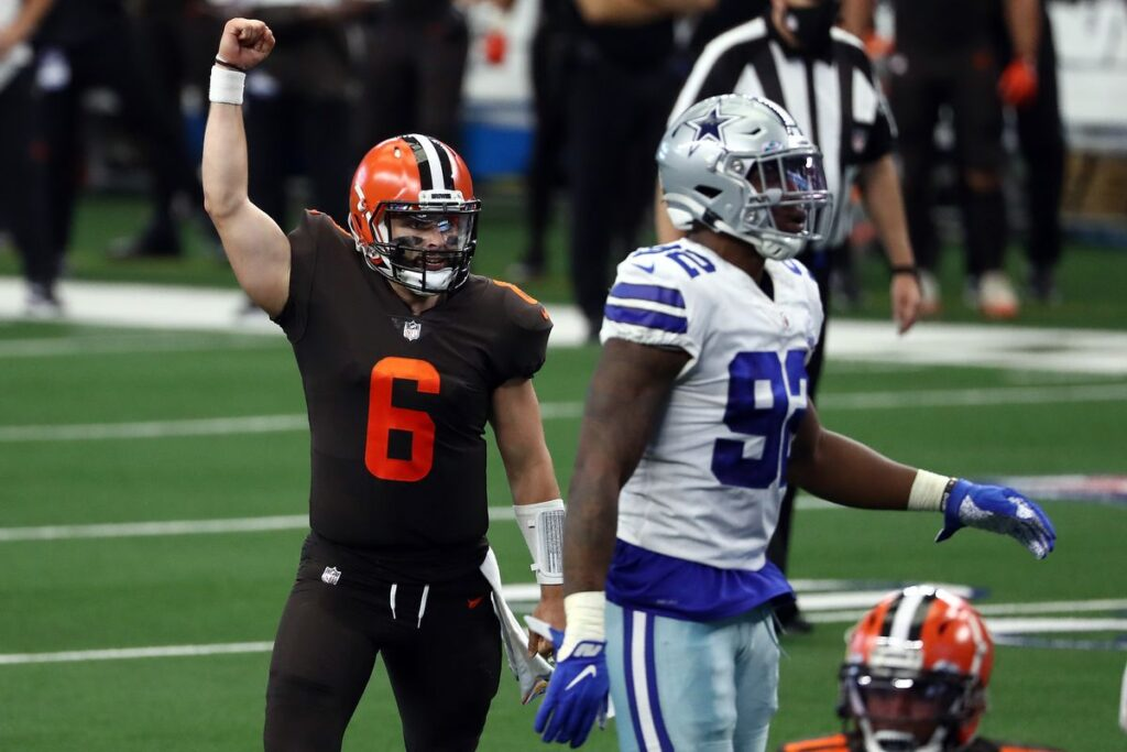 Baker Mayfield - Cleveland Browns - Dallas Cowboys