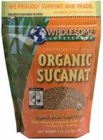 dWholesome Sweeteners Fair Trade Organic Sucanat Brown Sugar