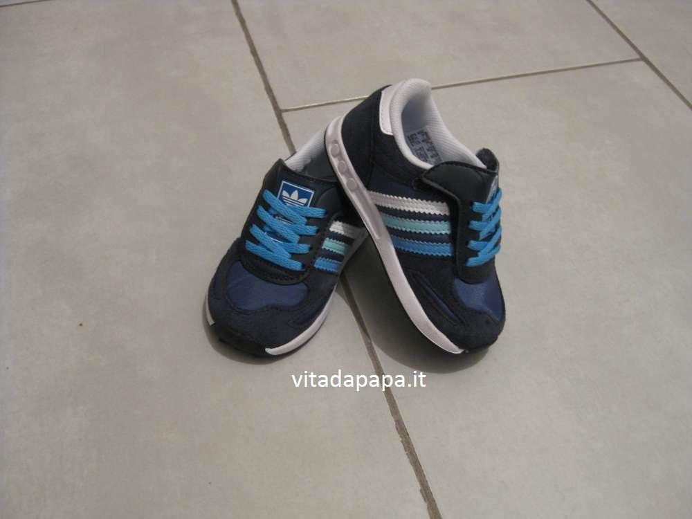 scarpe bambini adidas blu