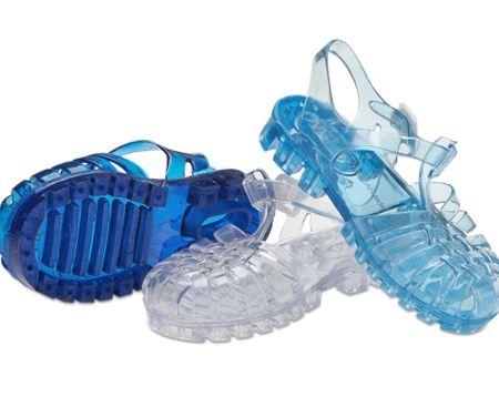sandali di gomma da bambini