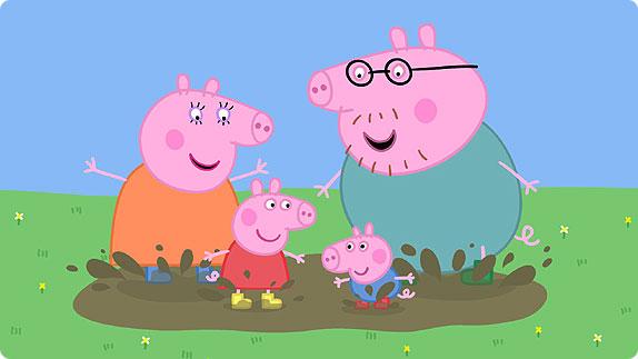 peppa pig famiglia