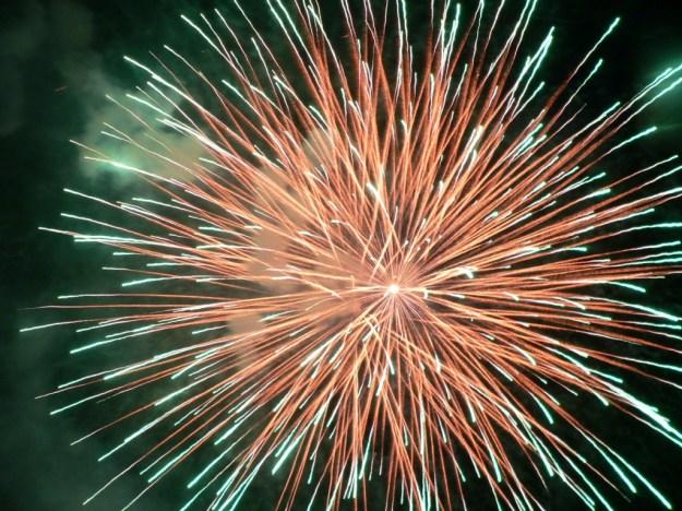capodanno 2013 - 2014 fuochi d'artificio