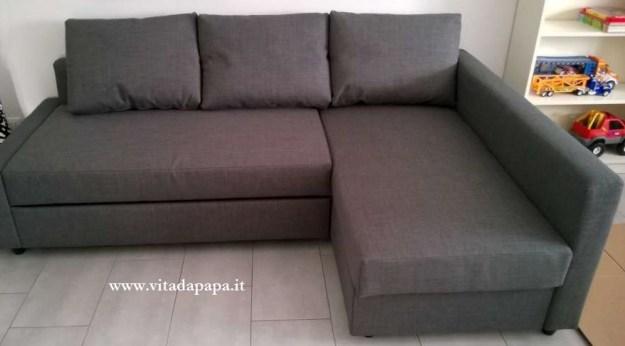Allerum friheten divano letto e un mare di cartoni - Ikea padova divani letto ...