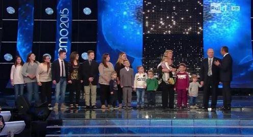 famiglia anania 16 figli sanremo
