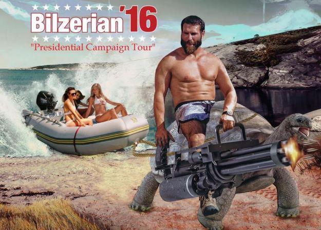 bilzerial campaign tour