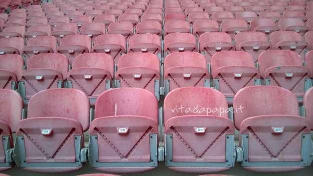 sedie stadio san siro