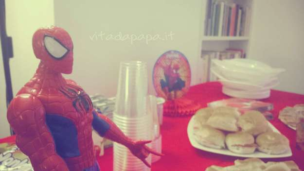 Festa tema Spiderman