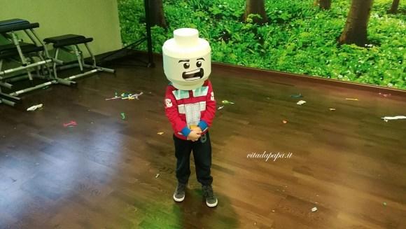 Gnappo testa Lego