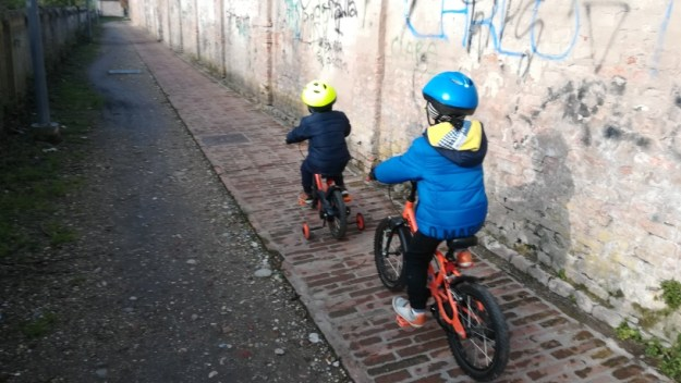 gnappi in bici