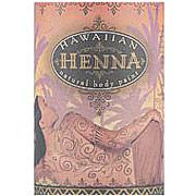 Hawaiian Henna Natural Tattoos & Body Paint Kit (Natural & Temporary Tattoos)