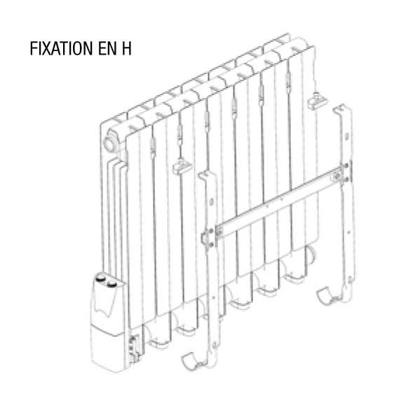 Radiateur Electrique Acova Atoll Lcd 1000w Inertie Fluide Taxb 100 063 Cf Vita Habitat