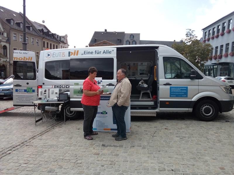 HÖRmobil und EUTB zu Gast in Reichenbach