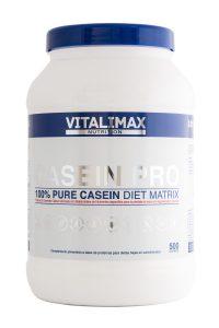 Comprar Casein Pro Proteína de caseinato cálcico Vitalimax en Amazon al mejor precio
