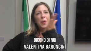 DICONO DI NOI VALENTINA BARONCINI per post