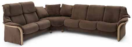 Stressless Granada High Back Leather Ergonomic Sofa Couch