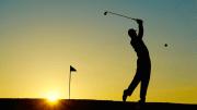 sunset-golf