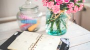 flowers-desk-office-vintage