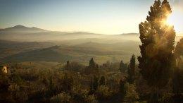 Italian landscape mountains nature