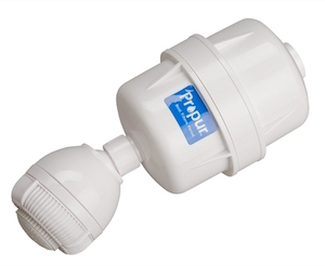 shower filter for fluoride