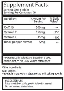 co-q10-συστατικά