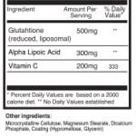 Pureclinica Γλουταθειόνη ingredients