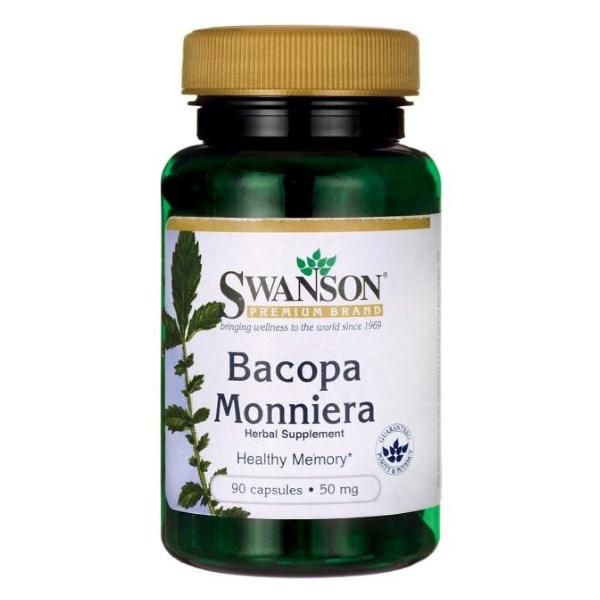 Swanson Bacopa Monniera 10:1 50mg x 90