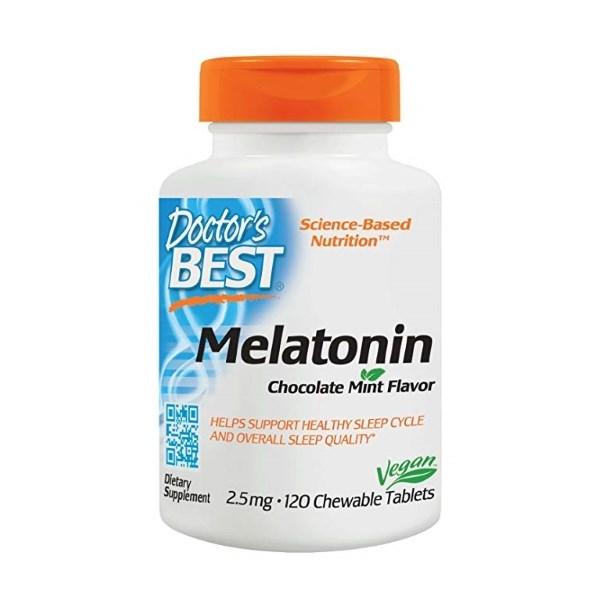 Doctor's Best Melatonin 2.5mg x 120